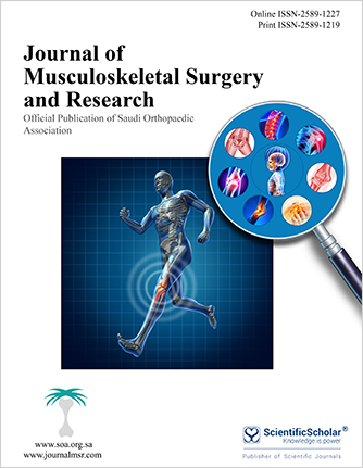 Journal of Musculoskeletal Surgery and Research
